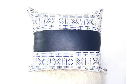 Blue Streak Pillow Cover