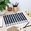 Thumbnail: Bold Grid Plaid Navy Acrylic Tray