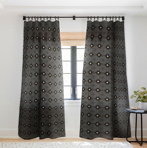 Dontae Dark-Sheer Curtain