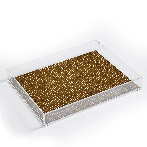 Dijon Sprinkle Acrylic Tray