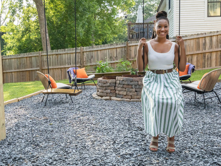 Spring One Room Challenge Reveal-From Pandemic Project to Backyard Oasis!