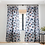 Thumbnail: Graphic Thoughts Blue-Sheer Curtain
