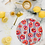 Thumbnail: Peonies and Stripes Cutting Board