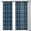 Thumbnail: Little Textures Dots Navy-Sheer Curtain