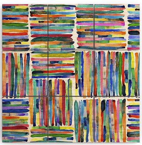 Bold Bright Stripe Multi