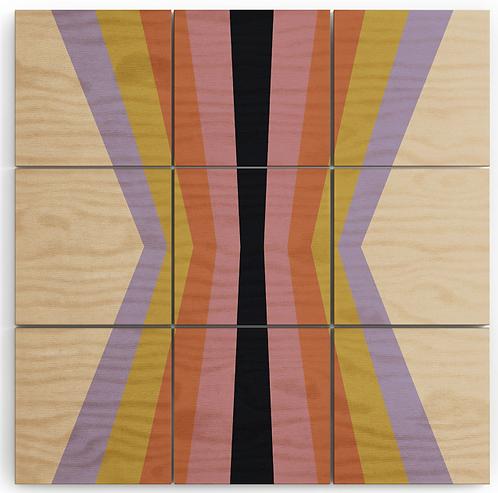 Retro Stripes Reflection IV