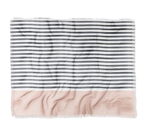 Watercolor Stripe Blush