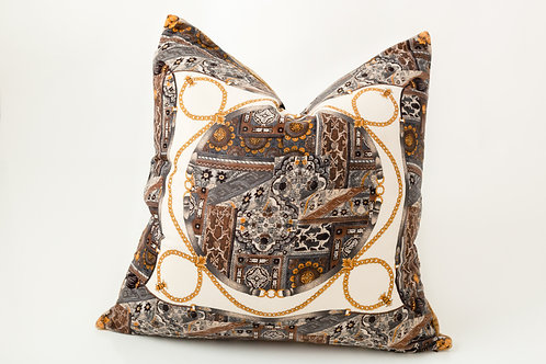 Gold Links Pillow