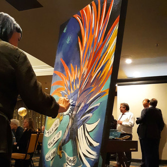 Eagle Painting, 2020