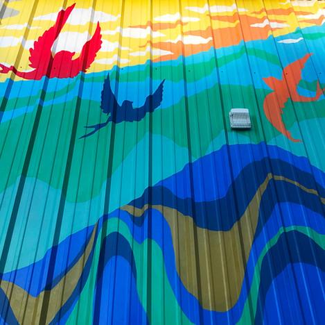 Boho Haven Mural, 2020