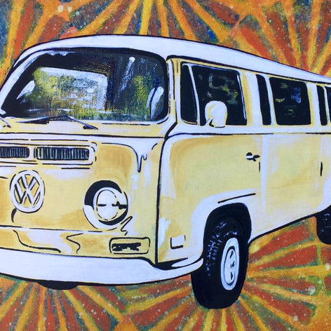 Bus Painting