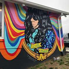 Lilly Hiatt Mural, 2020