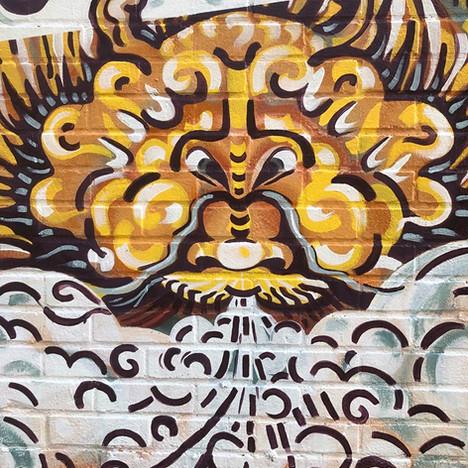 Dragons Mural 2019