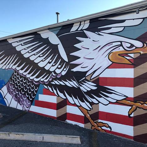 Eagle Mural 2019