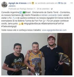 Visita dos Argentinos