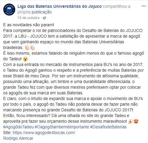 Depoimento Jojuco - MS