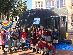 planetaryum okul etkinlik