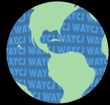 WAYCJ Earth Sticker