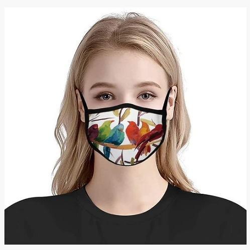 Custom Printed Mask No Filter (Dye-Sublimation)