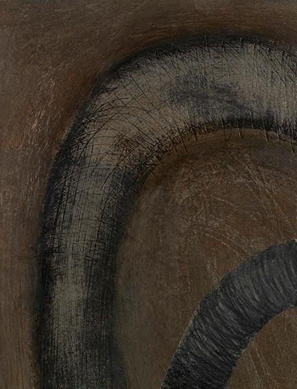 Senza titolo, 2000, tecnica mista su carta, cm 20 x 15