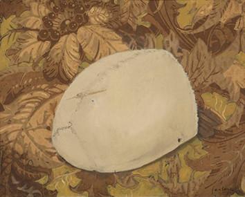 Senza titolo, 2003, olio su carta su tela, cm 24 x 30