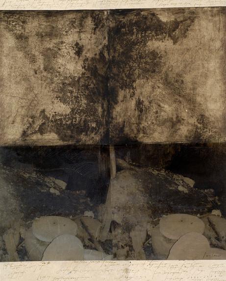 Senza titolo, 2006, tecnica mista su carta, cm 65 x 52
