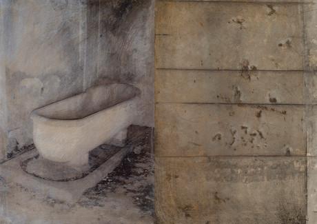 Senza titolo, 2006, tecnica mista su carta, cm 39 x 56