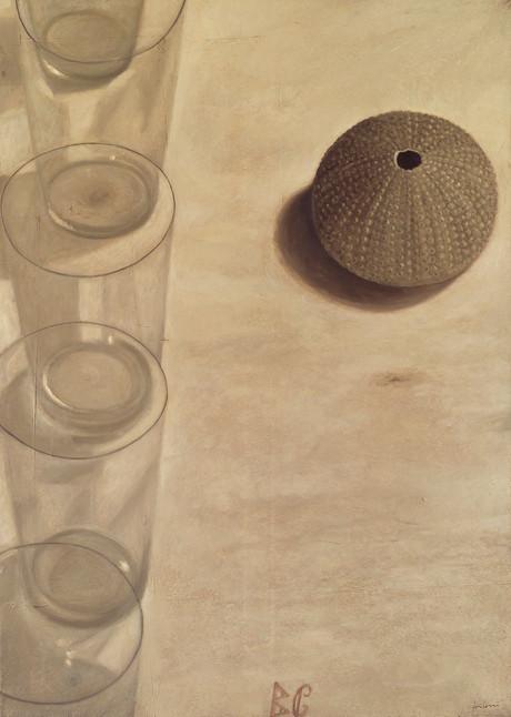 Senza titolo, 2004, olio su carta su tela, cm 140 x 100