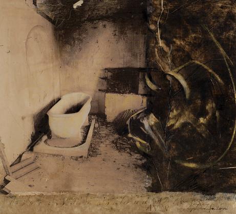 Senza titolo, 2006, tecnica mista su carta, cm 40 x 44