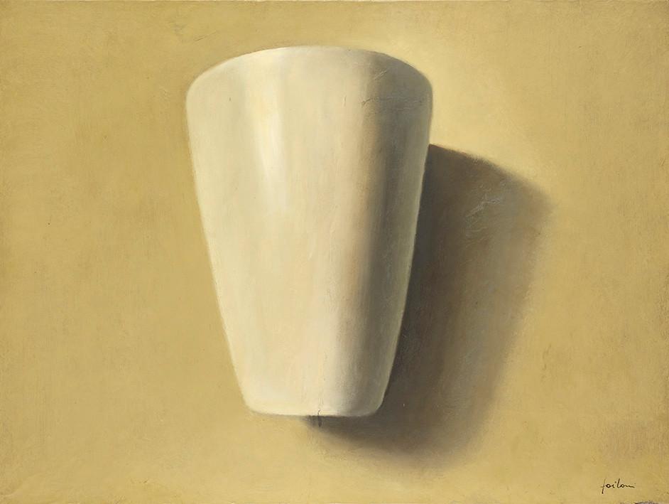 Senza titolo, 2011/2012, olio su carta su tela, cm 60 x 80