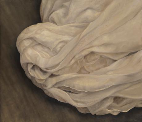 Senza titolo, 2008/2009, olio su carta su tela, cm 120 x 140