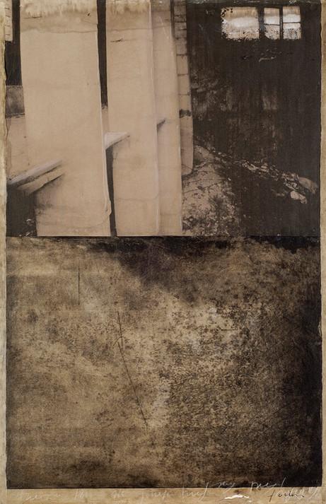 Senza titolo, 2006, tecnica mista su carta, cm 61,5 x 40