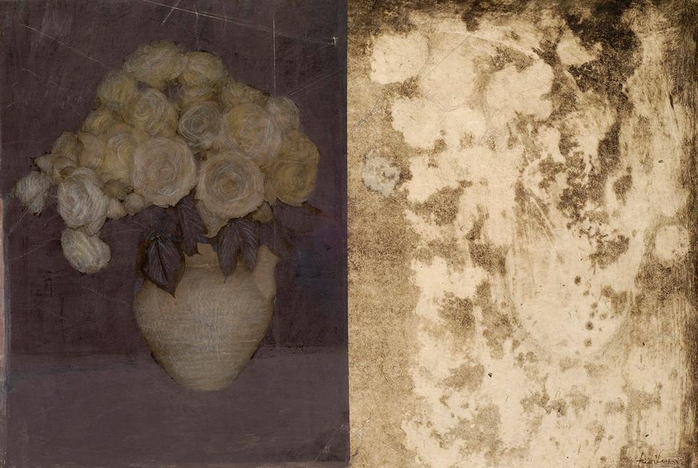 Senza titolo, 2006, tecnica mista su carta, cm 40 x 60