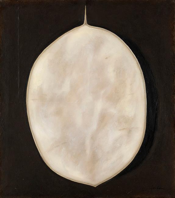 Senza titolo, 2007, olio su carta su tela, cm 55 x 49