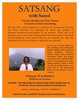 Satsang with Saeed Gokarna