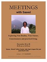 Meeting in Presence