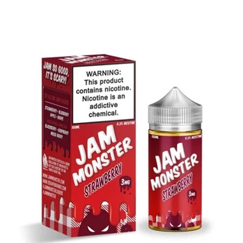 JAM MONSTER FREEBASE E-LIQUID 100ML