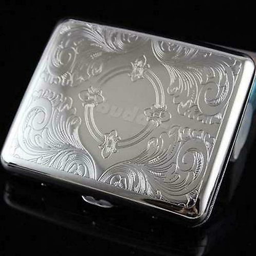 Etched Man Cigarette Box