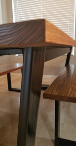Table Base Side View