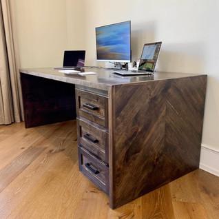 Chevron Waterfall Desk