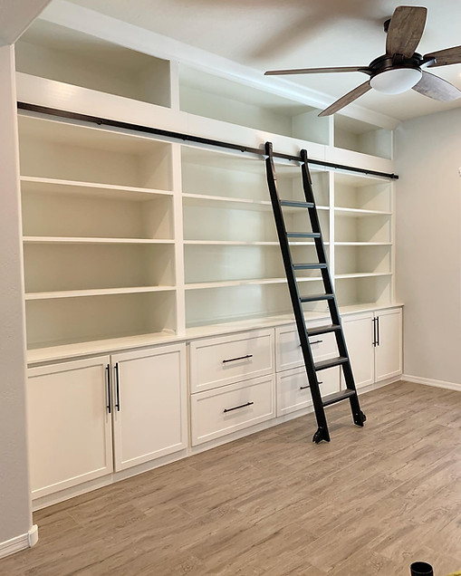Rolling Ladder Bookcase