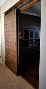 Double by-pass Barn Doors!
