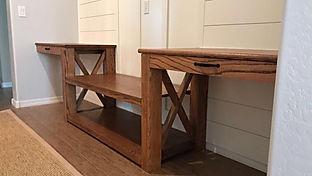 Red Oak Desk (Special Walnut)