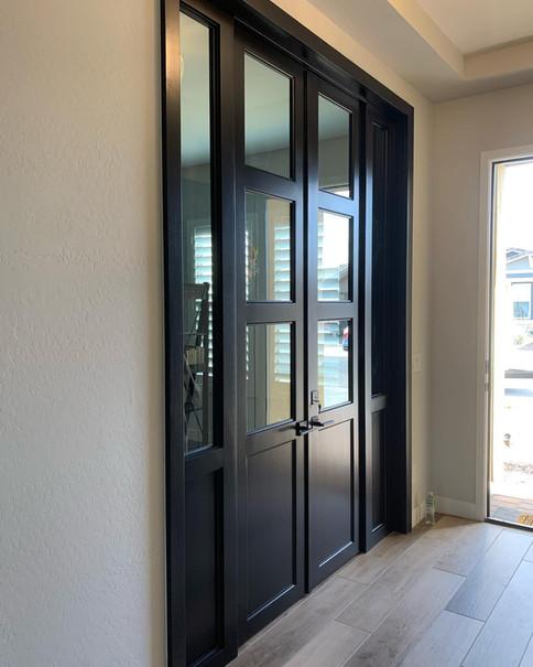 French Door W/ Skylights