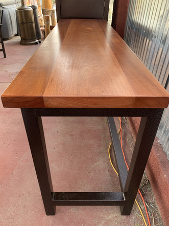 African Mahogany Side Table