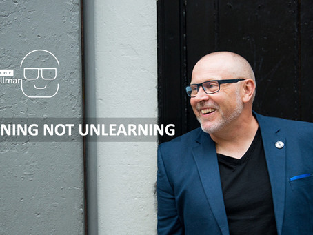 Learning Not Unlearning: Change