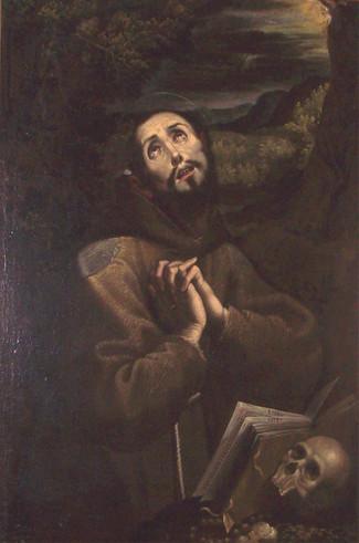 San Francesco d'Assisi in estasi