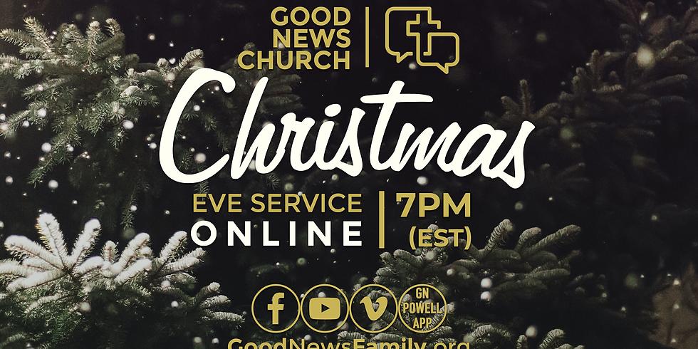 ONLINE Christmas Eve Service (7pm EST)