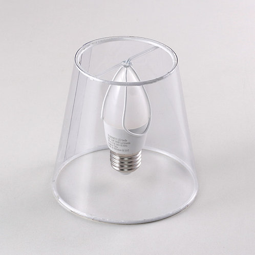 Fixação tipo pressão (fixação na lâmpada)