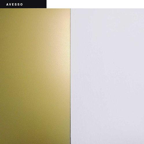 Material Branco / Ouro [ cod. 821 ]